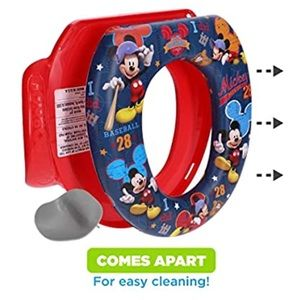 "Mickey Mouse ""All Star"" Soft Potty training Seat"